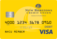 New Horizons Debit Card