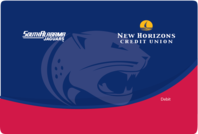 New Horizons University of South Alabama Jaguars Debit Card