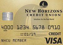 New Horizons Visa Gold Credit Card